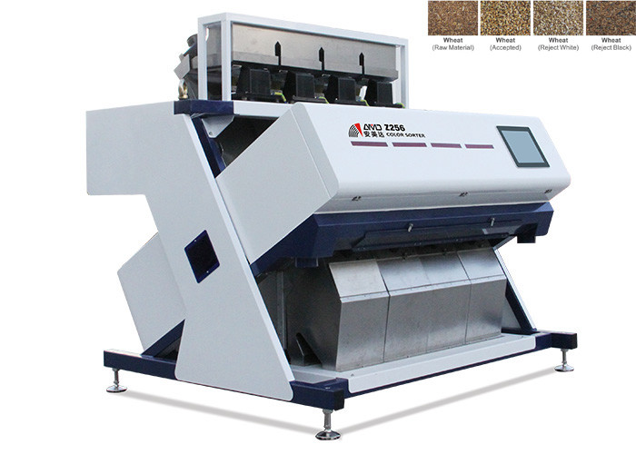 RC4high End Wheat Color Sorter Machine Rustproof Aluminum Alloy Materials