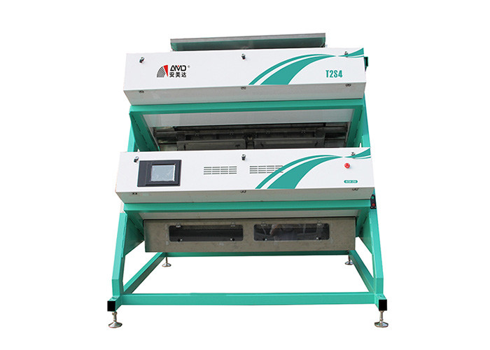 T2S4 Tea Color Sorter Machine 600 KG/H V Type Sorting Combination Process