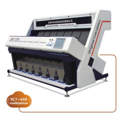 Intelligent Colour Sorting Machine / High Precision Color Sorter 5-10 T/H
